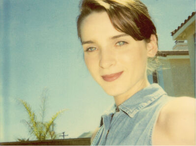 Stefanie Schneider, 'April Blue Eyes - Contemporary, Portrait, Women, Polaroid, 21st Century', 2004