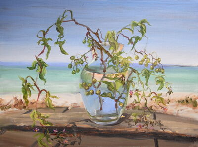 Pamela Berkeley, 'Belladonna at Aunt Helen's Beach', 2014