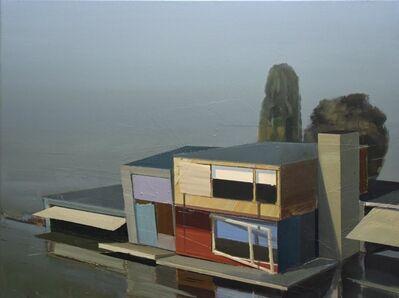 Ulf Puder, 'Ferienhaus nahe am See (Andreas Achenbach)', 2015