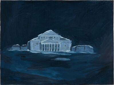 Karen Kilimnik, 'The Bolshoi Theater, dreamland, at night 9 pm, 3am, Moscow', 2004