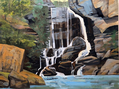 Mariella Bisson, 'Big Bradley Falls'