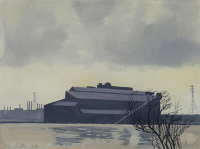 John Button, 'Ford Plant, Dearborn, Michigan', 1970