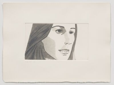 Alex Katz, 'Fran (from June Ekman's Class)', 1972
