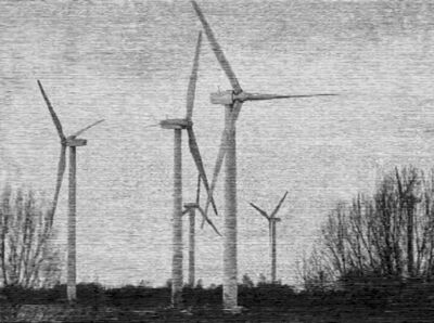 Christiane Baumgartner, 'Windraeder', 2003
