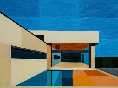 Andy Burgess, 'Abstract Pool House', 2016