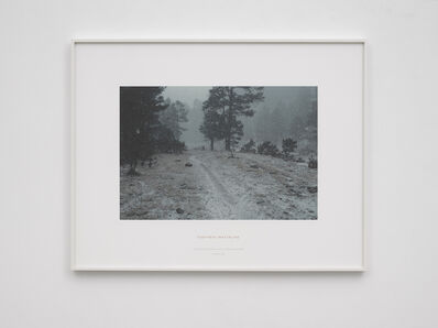 Richard Long, 'Footpath waterline - A thirteen day walk in the Sierra Tarahumara, Mexico 1987', 1987