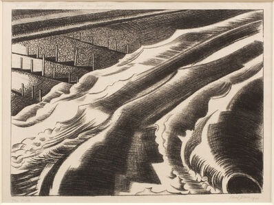 Paul Nash, 'The Tide', 1920