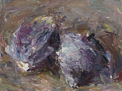 Daniel Enkaoua, 'Les deux choux violets enlacés', 2021