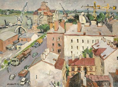 Egon Ferdinand Grabner, 'Vienna, Handelskai', 1964
