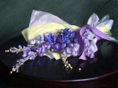 Lynne B. Mehlman, 'Spray of Violet', 2020