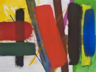 Wilhelmina Barns-Graham, 'Untitled (red diagonal)', 1996