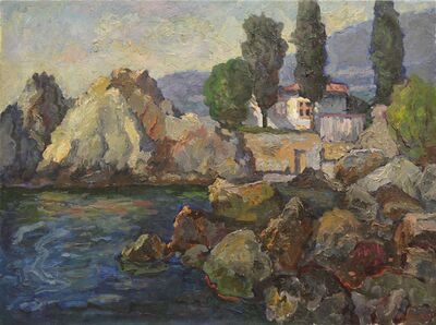 Vadim Semenovich Velichko, 'Gursuf', 1981