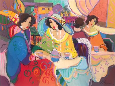 Isaac Maimon, 'coffee Paris chat', ca. 1990