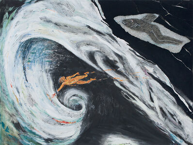 Mary Frank, 'Tempest', 2018-2019