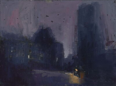 William Wray, 'Bats Fly at Night', 2017