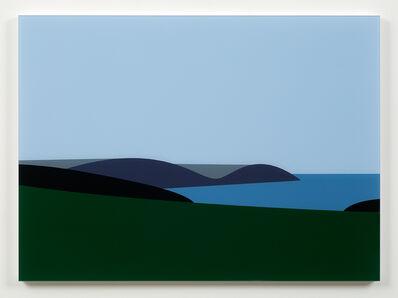 Julian Opie, 'Lantivet Bay', 2017