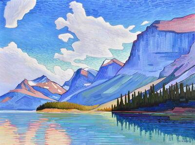 Nicholas Bott, 'Maligne Lake Sky', 2019