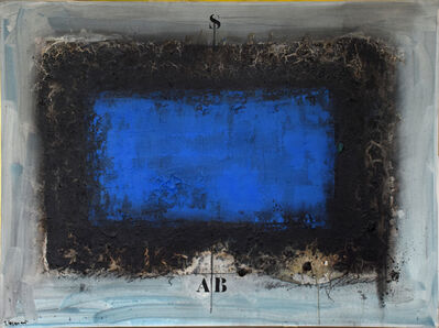 James Coignard, 'Bleu horizontal', 2019