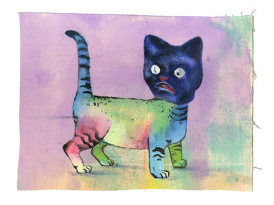Martin Mannig, 'Rainbow Cat', 2014
