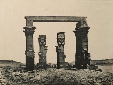 Maxime Du Camp, 'Nubie Temple de Kardassy', Neg. date: 1851c. / Print date: 1851 c.