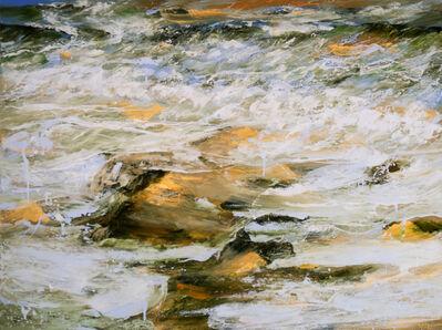 Réal Calder, 'Terre et mer XI', 2017