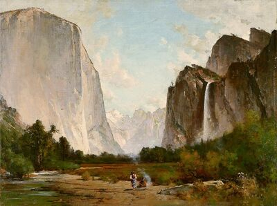 Thomas Hill, 'Yosemite ', 1887