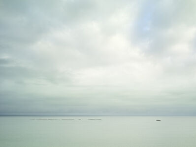 Donald Weber, 'Utah Beach - October 19, 2014, 10:15am. 19ºC, 82% RELH, Wind W, 12 Knots. VIS: Good, Overcast Clouds', 2014