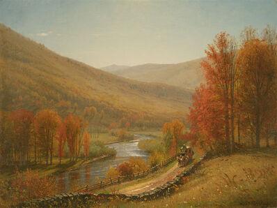 Worthington Whittredge, 'Scene on the Upper Delaware River'