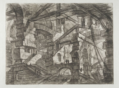 Giovanni Battista Piranesi, 'Invenzioni capric di carceri all'acqua forte', 1749-1750