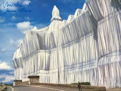 Christo and Jeanne-Claude, 'Reichstag Vorderseite bei Tag', 1990-2000