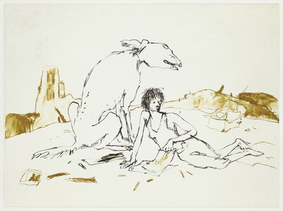 Quentin Blake, 'Girls and Dogs III', 2012