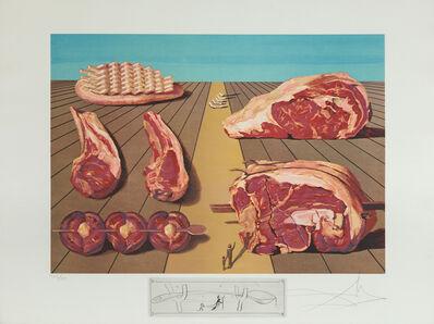 Salvador Dalí, 'Sodomized Entrees (Les Entre-Plats Sodomisés)', 1971