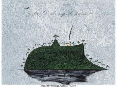 José Bedia, 'Perfil de Aquel Pais', 2010