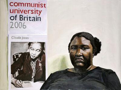 Yevgeniy Fiks, 'Portrait of Sheltreese McCoy (Communist Party USA)', 2007