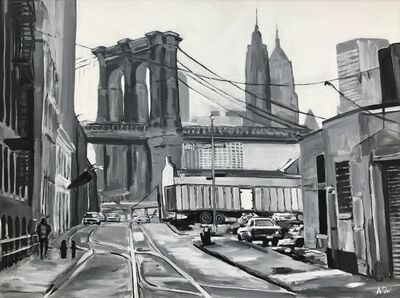 Angela Wakefield, 'Brooklyn Bridge, New York City', 2014