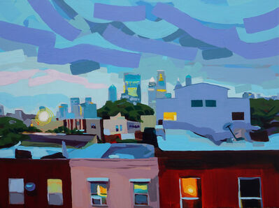 Krista Dedrick Lai, 'Blue City', 2019