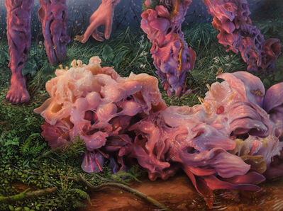 "Adrian Cox, '""Waking Big Dreamer""', 2020"
