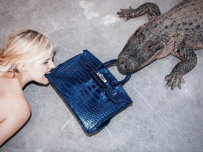 Tyler Shields, 'Gator Birkin', 2018