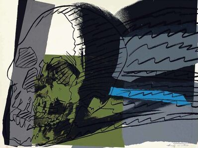 Andy Warhol, 'SKULLS FS II.160', 1976
