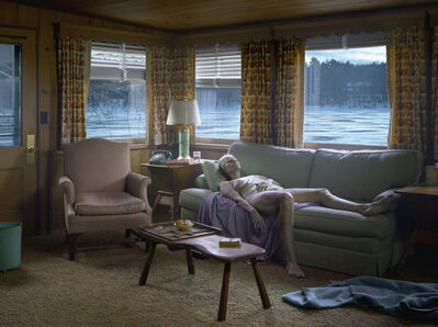 Gregory Crewdson, 'Reclining Woman on Sofa', 2014