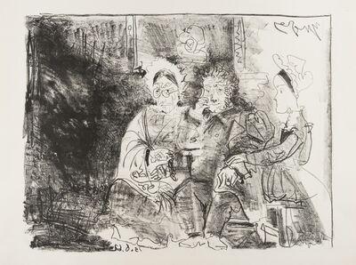 Pablo Picasso, 'Portrait de Famille Ingresque', 1962