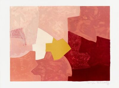 Serge Poliakoff, 'Composition rose', 1959