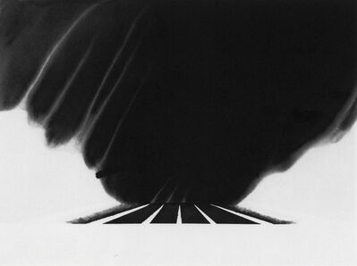Alfred Leslie, 'Drifting Snow on the Mass Pike (from 100 Views Along the Road)', 1983