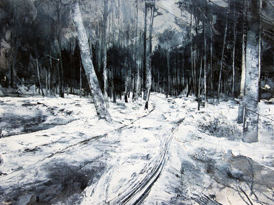 Mark Thompson, 'Back Behind the Branches', 2017
