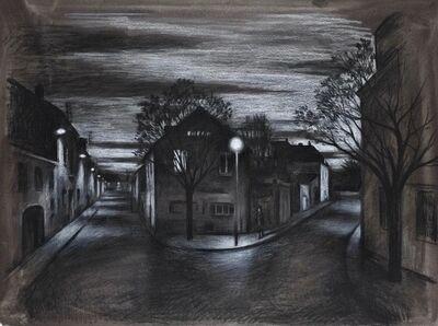 Marc Chalmé, 'Au point de la nuit (study)'