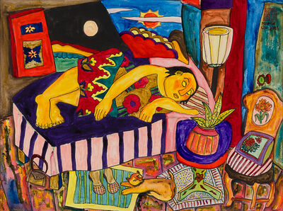 Martin Loh, 'Reclining Woman', 1993