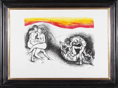 Renato Guttuso, 'War and Peace', 1971