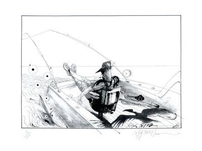 Ralph Steadman, 'Lono's Fighting Chair', 2006