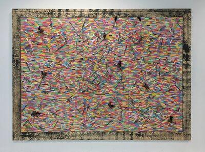 Pascale Marthine Tayou, 'Fresque de craies L', 2015