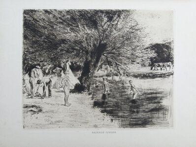 Max Liebermann, 'Badende Jungen', 1886